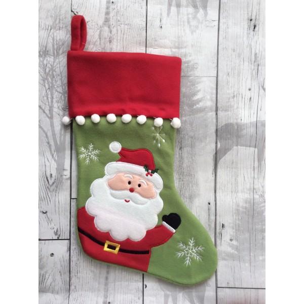 Santa Plush Stocking