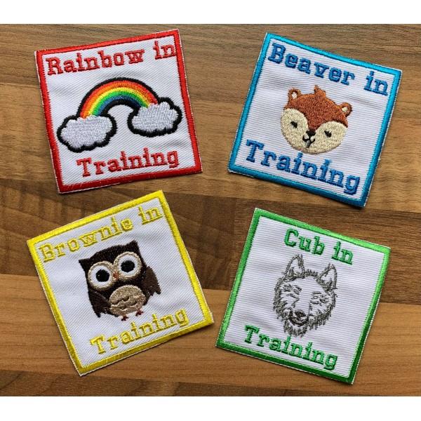 In Training Badges
