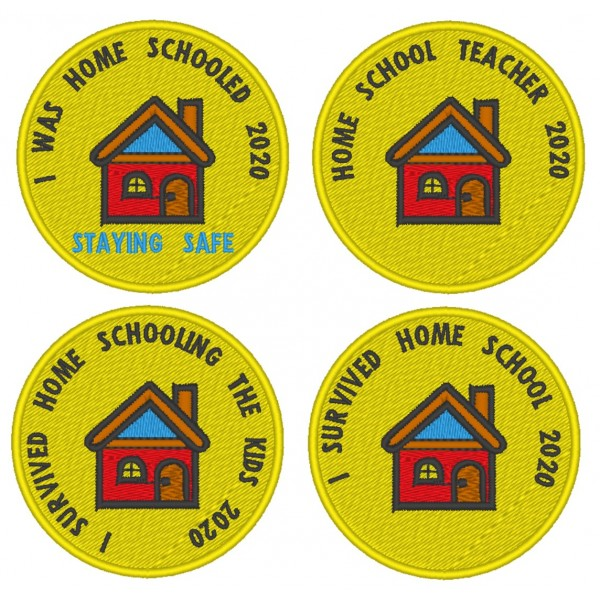 Home Schooled Badge