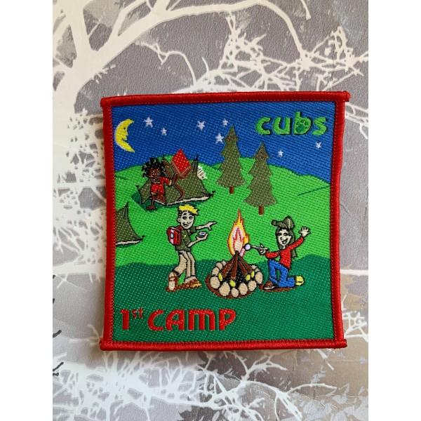 Cubs 1st Camp Badge