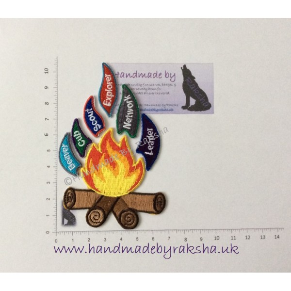 UK Scouting Campfire Badge