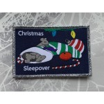 Christmas Sleepover Badge