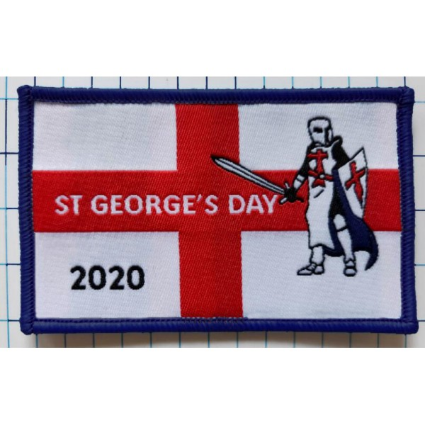 2020 St George's Day Badge