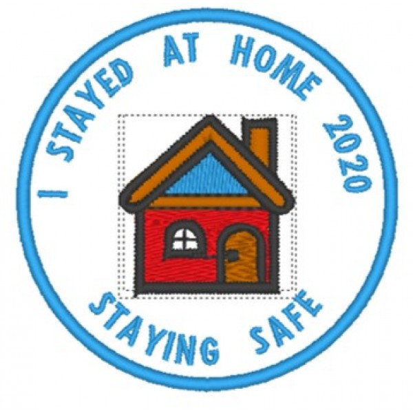 Stayed Home Badge