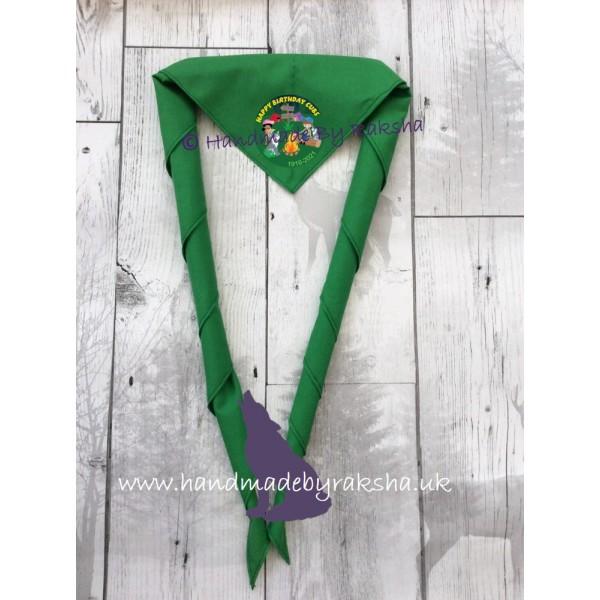 Cubs 105th Birthday Scarf