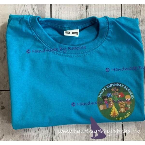 Beavers 35th Adult T Shirt