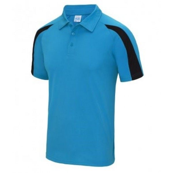 2nd Frampton Cotterell Adult Polo Shirt Contrast