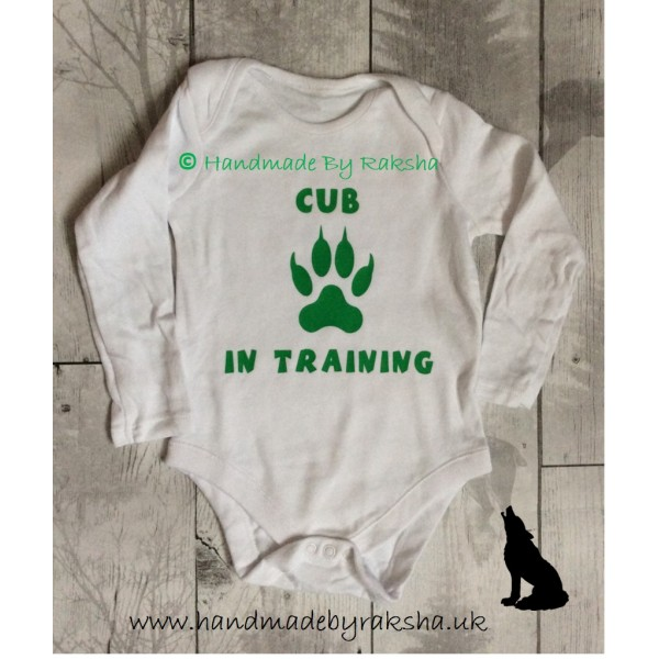 Cub In Training Bodysuit