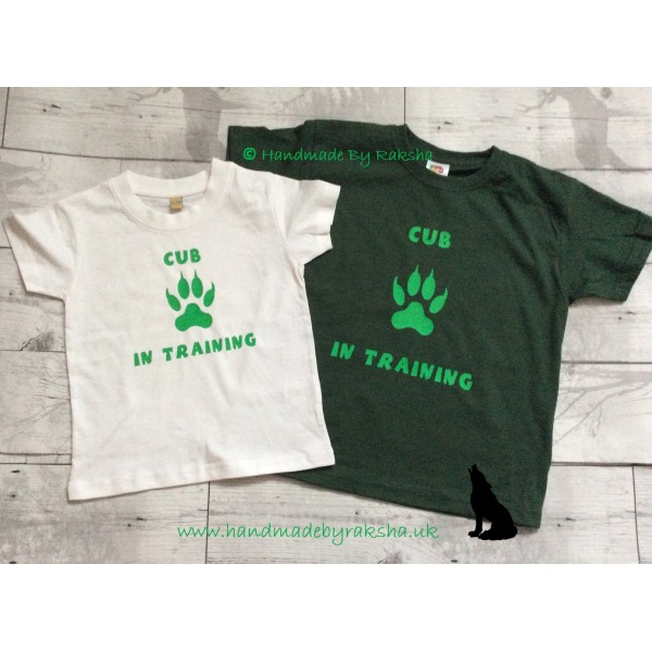 Cub in Training T Shirt