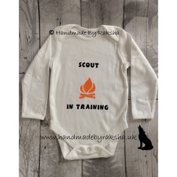 Scout in Training Bodysuit