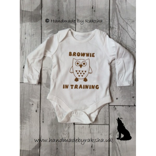 Brownie in Training Bodysuit