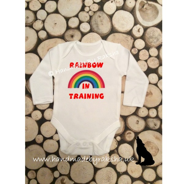 Rainbow in Training Bodysuit