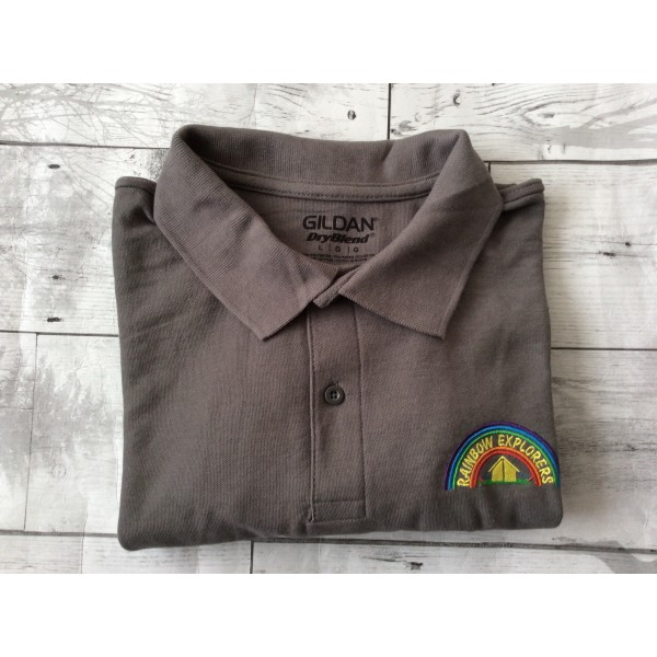 Rainbow ESU Polo Shirt