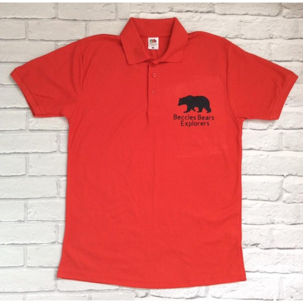 Beccles Bear Explorers Polo Shirt