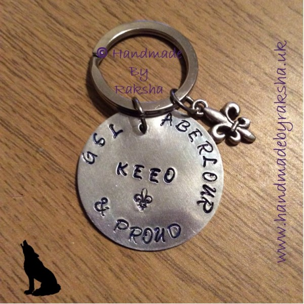 Group Scout Leader & Proud Keyring