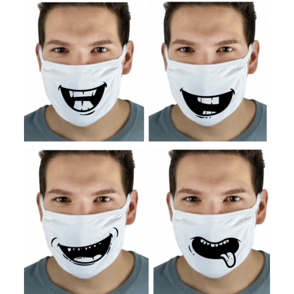 Face Cover Mouth Design