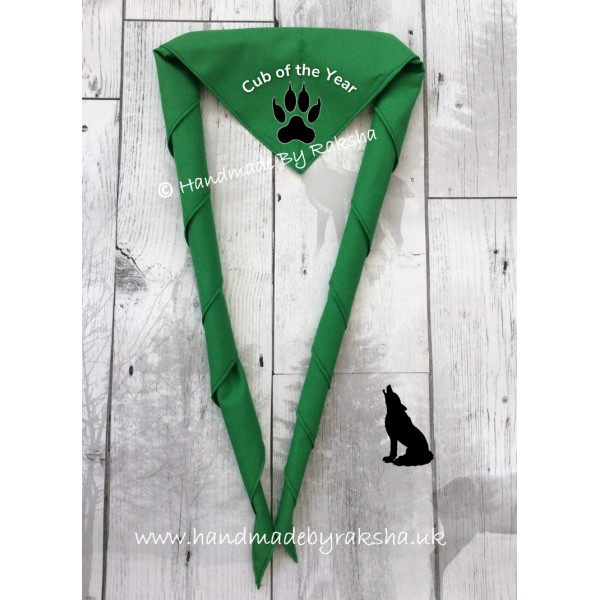 'Cub of the Month/term/camp' Scarf