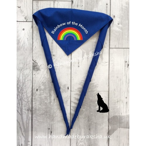 'Rainbow of the Month/term/camp' Scarf