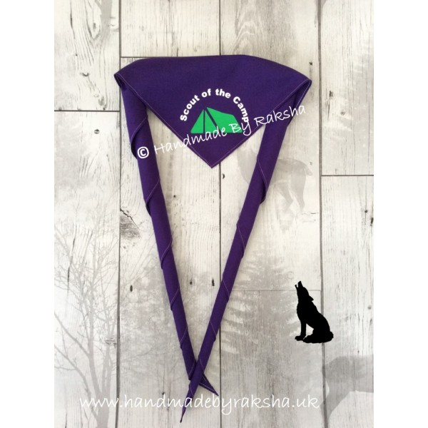 Scout of the Month/term/camp Scarf
